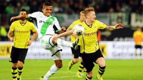 Nhan dinh Wolfsburg vs Dortmund 20h30 ngay 19/8 (Bundesliga 2017/18)