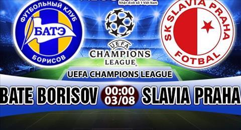 Nhan dinh BATE Borisov vs Slavia Praha 00h00 ngay 38 (So loai Champions League) hinh anh