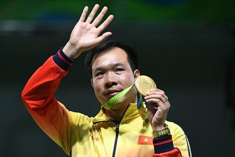 Hoang Xuan Vinh Vo dich Olympic, van lo roi vang SEA Games hinh anh