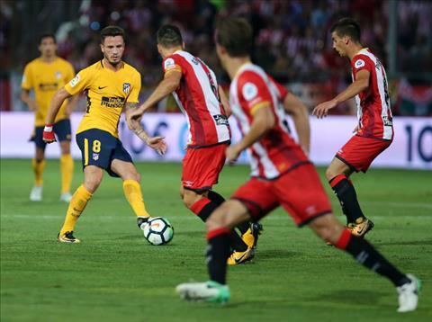 Tong hop Girona 2-2 Atletico Madrid (Vong 1 La Liga 201718) hinh anh