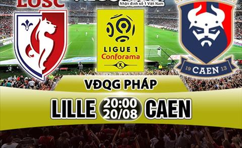 Nhan dinh Lille vs Caen 20h00 ngay 208 (Ligue 1 201718) hinh anh