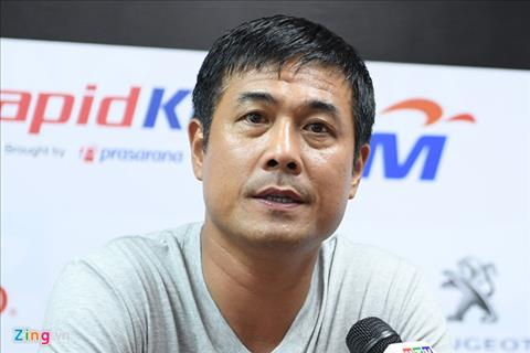 HLV Huu Thang Tran dau voi U22 Indonesia se rat cang hinh anh