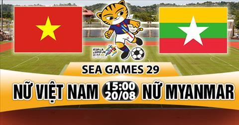 Nhan dinh Nu Viet Nam vs Nu Myanmar 15h00 ngay 208 (Sea Games 29) hinh anh