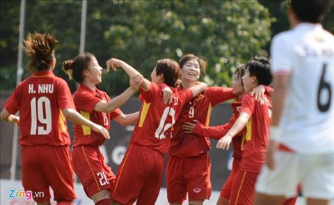 Tong hop Nu Viet Nam 3-1 Nu Myanmar (Sea Games 29) hinh anh