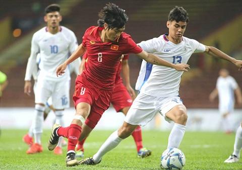 U22 Viet Nam 4-0 U22 Philippines Khong Xuan Truong, khong van de! hinh anh