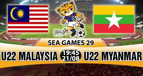 Nhan dinh U22 Malaysia vs U22 Myanmar 19h45 ngay 218 (Sea Games 29) hinh anh