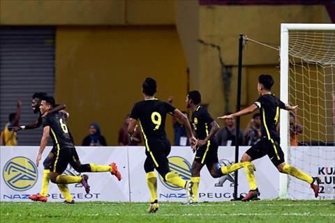 Tong hop U22 Malaysia 3-1 U22 Myanmar (Sea Games 29) hinh anh