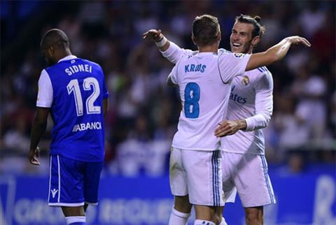 Bale va Kroos giup Real khoi dau chien dich bao ve danh hieu mot cach thuan loi. Anh: Reuters