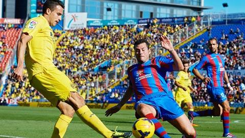 Nhan dinh Levante vs Villarreal 01h15 ngay 22/8 (La Liga 2017/18)