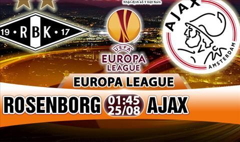 Nhan dinh Rosenborg vs Ajax 01h45 ngay 258 (Europa League 201718) hinh anh