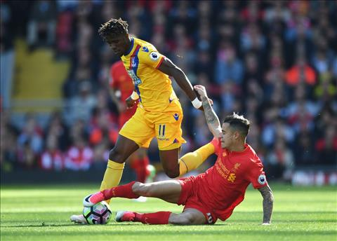 Thong tin luc luong, doi hinh tran Liverpool vs Arsenal hinh anh