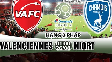 Nhan dinh Valenciennes vs Niort 01h00 ngay 268 (Hang 2 Phap 201718) hinh anh