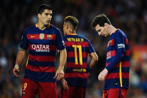 Viec Neymar ra di danh dau su sup do cua Barcelona