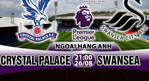 Nhan dinh Crystal Palace vs Swansea 21h00 ngay 268 (Premier League 201718) hinh anh