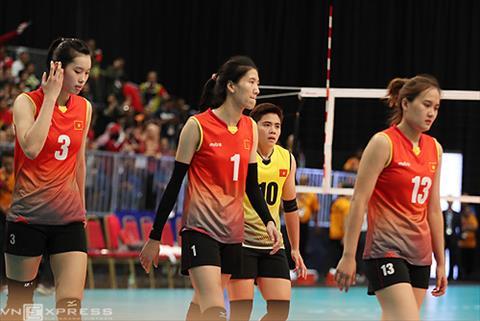 Bong chuyen nu Viet Nam mat Top 2 SEA Games sau 16 nam hinh anh