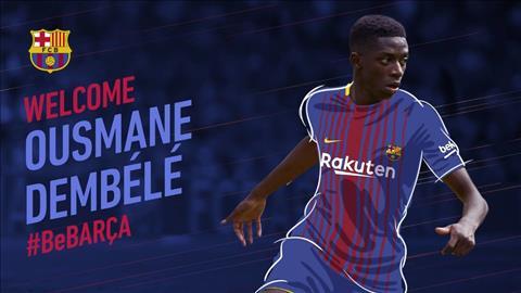 Cap ben Barcelona, Dembele duoc danh gia ngang hang Neymar hinh anh