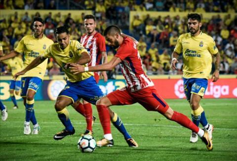 Tong hop Las Palmas 1-5 Atletico Madrid (Vong 2 La Liga 201718) hinh anh
