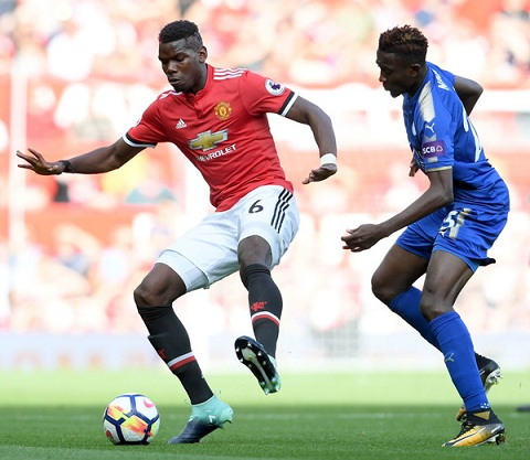 Du am MU 2-0 Leicester Bung no voi dong co Pogboom hinh anh