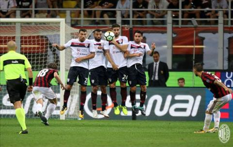 Tong hop AC Milan 2-1 Cagliari (Vong 2 Serie A 201718) hinh anh