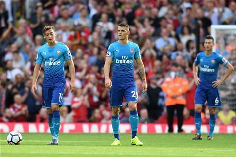 Arsenal thua tham 0-4 Liverpool