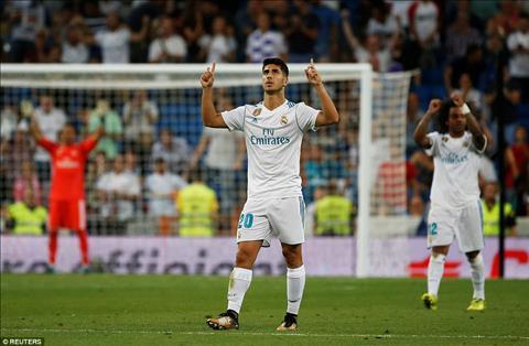 Cham diem Real 2-2 Valencia Nguoi hung Asensio hinh anh