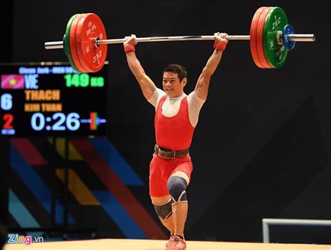 Nhat ky Sea Games 29 ngay 288 Trinh Van Vinh lap ky tich o cu ta hang can 62kg hinh anh 3