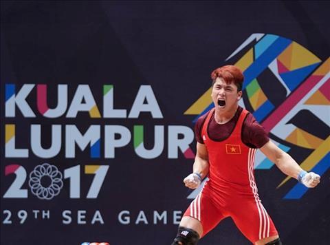 Nhat ky Sea Games 29 ngay 288 Trinh Van Vinh lap ky tich o cu ta hang can 62kg hinh anh
