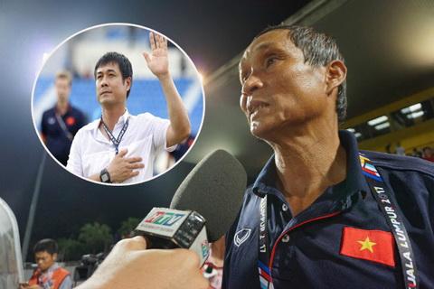 HLV Mai Duc Chung se tam thoi tiep quan chiec ghe huan luyen DTQG tu Nguyen Huu Thang.