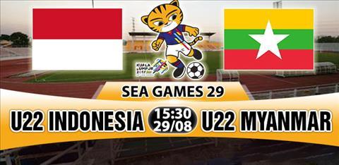 Nhan dinh U22 Indonesia vs U22 Myanmar 15h30 ngay 298 (Sea Games 29) hinh anh