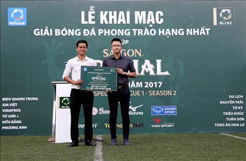 Khai mac Giai hang Nhat – Cup Bia Saigon Special 2017 Tung bung ngay hoi phui hinh anh