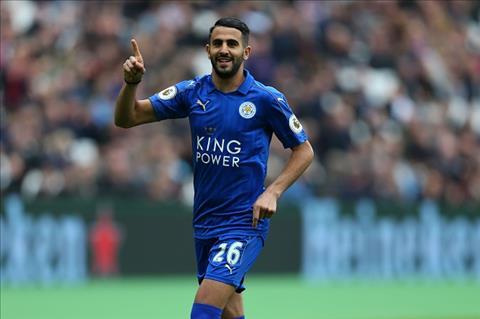 Tien ve Riyad Mahrez nhung khong den Arsenal hinh anh
