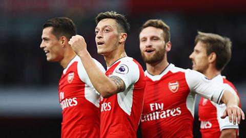 Lich thi dau cua Arsenal thang 9 mua giai 20172018 hinh anh
