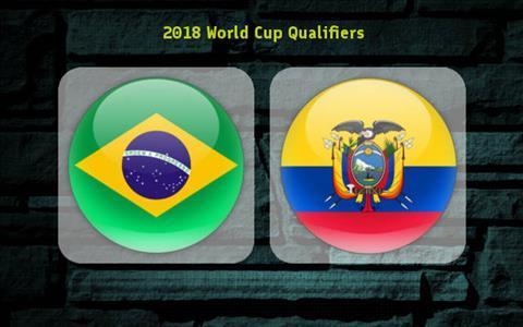 TRUC TIEP Brazil vs Ecuador 07h45 ngay 19 (VL World Cup 2018) hinh anh