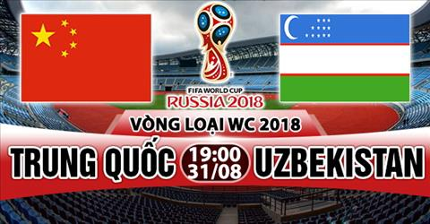 Nhan dinh Trung Quoc vs Uzbekistan 19h00 ngay 318 (VL World Cup 2018) hinh anh