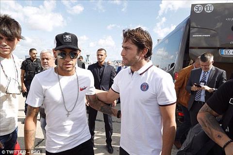 TRUC TIEP Le ra mat PSG cua ban hop dong the ky Neymar hinh anh