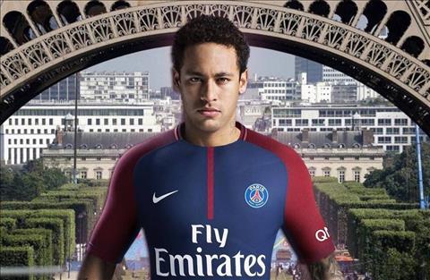 Neymar chinh thuc toi PSG