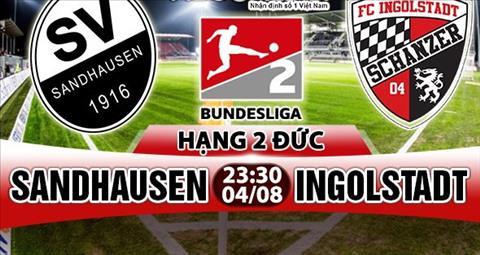 Nhan dinh Sandhausen vs Ingolstadt 23h30 ngay 48 (Hang 2 Duc 201718) hinh anh