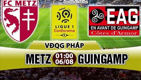 Nhan dinh Metz vs Guingamp 01h00 ngay 68 (Ligue 1 201718) hinh anh