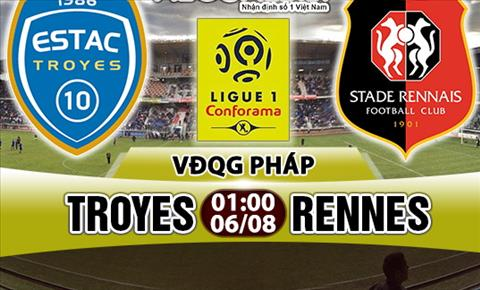Nhan dinh Troyes vs Rennes 01h00 ngay 68 (Ligue 1 201718) hinh anh