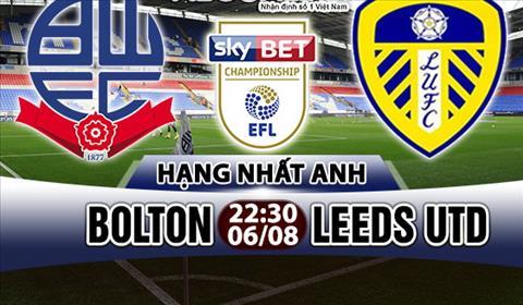 Nhan dinh Bolton vs Leeds 22h30 ngay 68 (Hang Nhat Anh 201718) hinh anh