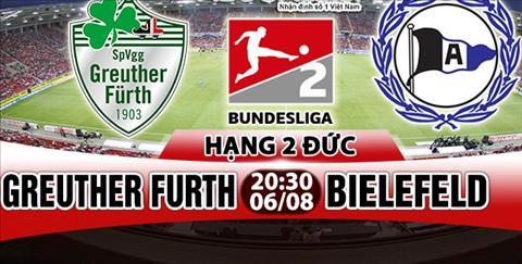 Nhan dinh Greuther Furth vs Bielefeld 20h30 ngay 68 (Hang 2 Duc 201718) hinh anh