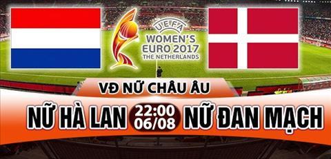 Nhan dinh Nu Ha Lan vs Nu Dan Mach 22h00 ngay 68 (Euro 2017) hinh anh