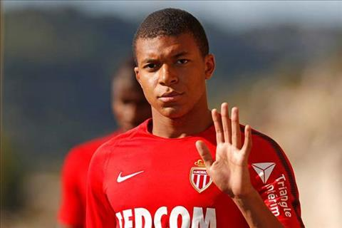 Tien dao Kylian Mbappe tuyen bo o lai Monaco hinh anh
