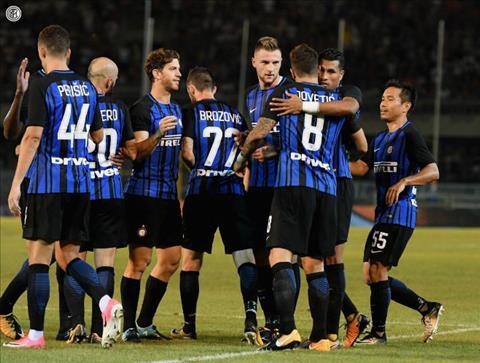 Tong hop Inter Milan 3-1 Villarreal (Giao huu) hinh anh