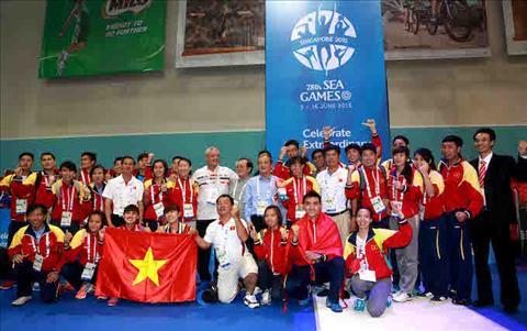 Thach thuc cho cac kiem thu Viet Nam tai Sea Games 29 hinh anh