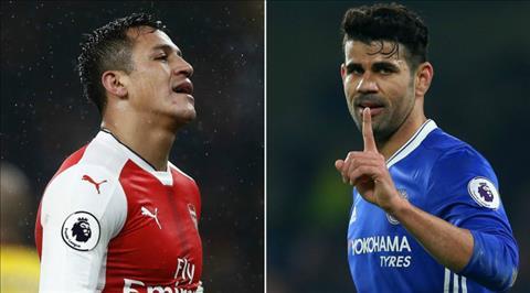 Diego Costa va Sanchez Van de cua Chelsea va Arsenal hinh anh 2