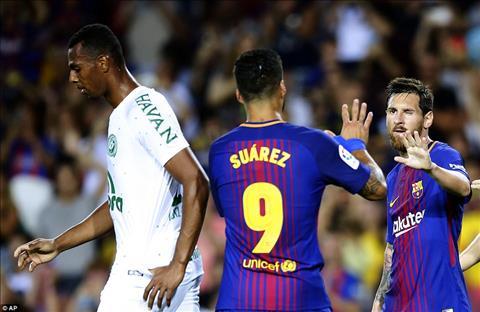 Mat Neymar thi van con do Messi vs Suarez dang cap the gioi