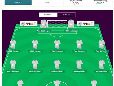 Gioi thieu luat choi cua Fantasy Premier League 201718 hinh anh