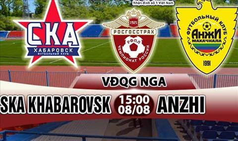 Nhan dinh Khabarovsk vs Anzhi 15h00 ngay 88 (VDQG Nga 201718) hinh anh
