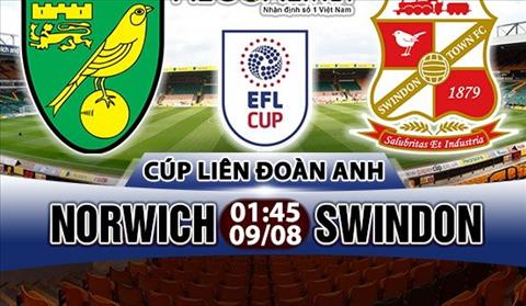 Nhan dinh Norwich vs Swindon 01h45 ngay 98 (Cup Lien doan Anh 201718) hinh anh